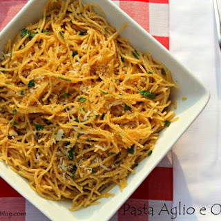 Whole Wheat Pasta Aglio e Olio