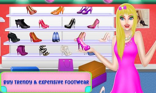 Shopping Mall For Rich Girls: Supermarket Cashier  screenshots 19