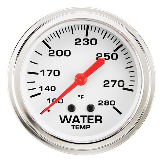 Engine Water Temperature You gotta know what is going on