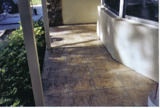 Photo: out door job with sand paper finish tile