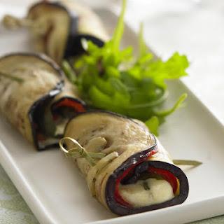 Eggplant Pepper Rolls.
