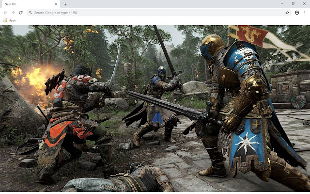 For Honor Game Wallpapers and New Tab