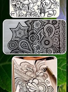 doodle art design ideas screenshot thumbnail - Drawing Design Ideas