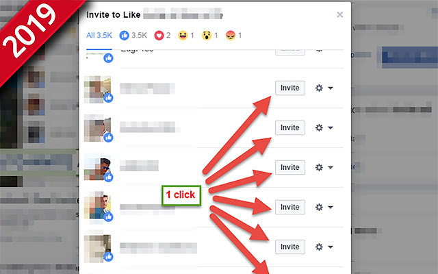 Invite post likers to like page - 2019