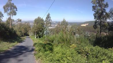 Photo: Panorámica del descenso desde Marranxón a O Roxal