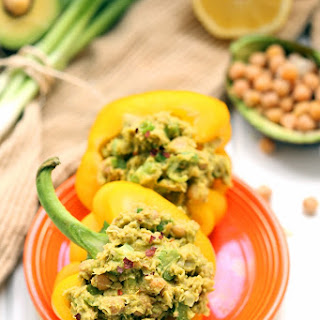 Curried Smashed Chickpea and Avocado Salad.