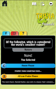 Trivia 4 Friends- screenshot thumbnail