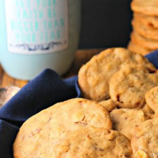 Coffee Toffee Crunch Cookies #SundaySupper.