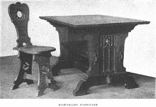 Photo: 1910 ROSE VALLEY FURNITURE.
