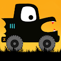 Labo Halloween Car:Draw & Race for Kids,Toddlers icon