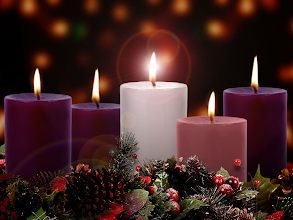 """Photo: Christmas Eve ~ ''CHRIST'' THE LIGHT OF THE WORLD ~ 5th Candle, (white)  Christmas Eve Candlelight Service  Biblical Inspiration 1 ~ PEACE ON EARTH, GOOD WILL TO MEN ~ Meditation: Angels, God's Obedient Messengers   https://sites.google.com/site/biblicalinspiration1/biblical-inspiration-1-now-thank-we-all-our-god-changed-by-worship-the-moody-church/biblical-inspiration-1-o-come-o-come-emmanuel-series-the-baby-who-changed-the-world-message-he-redeems-the-world-the-moody-church/biblical-inspiration-1-joy-to-the-world-series-the-baby-who-changed-the-world-message-he-confounds-the-world-the-moody-church/biblical-inspiration-1-god-so-loved-the-world-series-the-baby-who-changed-the-world-message-he-divides-the-world-the-moody-church/biblical-inspiration1-peace-on-earth-good-will-to-men-message-children-s-chorus-angels-aware-meditation-angels-god-s-obedient-messengers-the-moody-church  Luke 2:8–14 ESV  The Shepherds and the Angels  8 And in the same region there were shepherds out in the field, keeping watch over their flock by night. 9 And an angel of the Lord appeared to them, and the glory of the Lord shone around them, and they were filled with great fear. 10 And the angel said to them, """"Fear not, for behold, I bring you good news of great joy that will be for all the people. 11 For unto you is born this day in the city of David a Savior, who is Christ the Lord. 12 And this will be a sign for you: you will find a baby wrapped in swaddling cloths and lying in a manger."""" 13 And suddenly there was with the angel a multitude of the heavenly host praising God and saying,  14        """"Glory to God in the highest,      and on earth peace among those with whom he is pleased!""""  Luke 2 ESV; https://www.biblegateway.com/passage/?version=ESV&search=Luke%202  Meditation Angels: God's Obedient Messengers Luke 2:8–14 Video; http://www.moodychurch.org/watch-online/angels-gods-obedient-messengers/"""