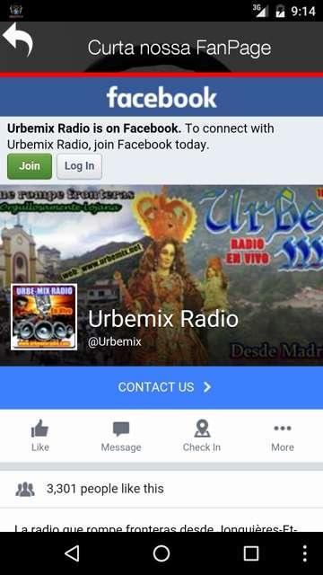 UrbeMix Radio- screenshot