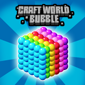 Craft World Bubble Shooter
