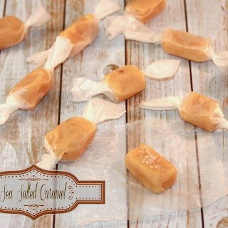 Sea Salted Soft Caramels