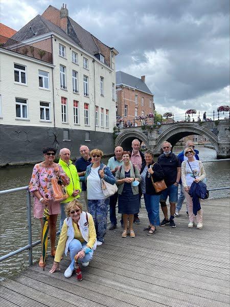 Tennisvrienden van De Jonge Wingerd - Smaakvolle wandeling in Mechelen