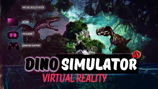 Dino Simulator +Game HD VR - náhled