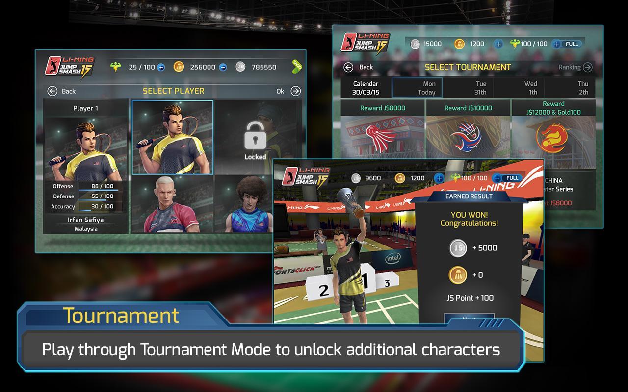 Li Ning Jump Smash 15 Apl Android Di Google Play
