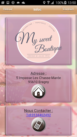 android My Sweet Boutique Screenshot 2