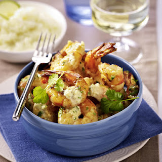 Chili Prawns with Coconut Rice