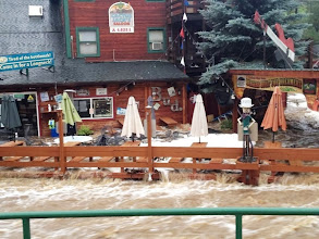 Photo: Cactus Jack's flooded