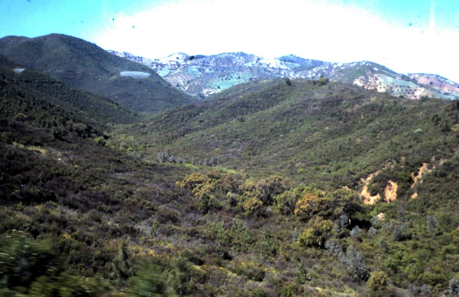 Cordillera del Atlas.- Marruecos
