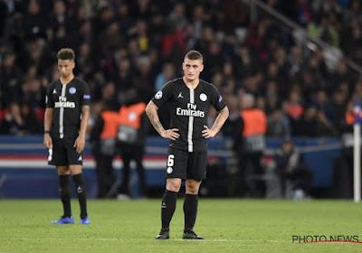 Le PSG communique sur la blessure de Marco Verratti