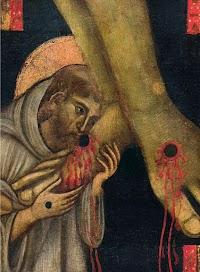 Grande croce del Maestro di San Francesco, Chiesa di San Francesco Arezzo (dettaglio)