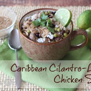 Caribbean Cilantro-Lime Chicken Soup.
