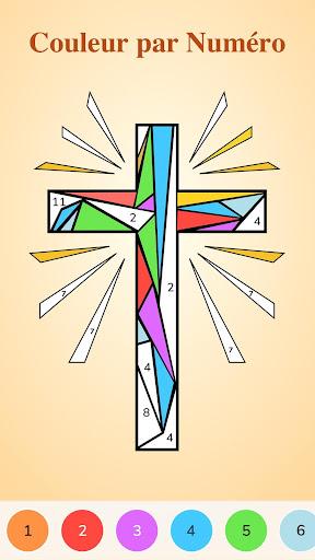 Bible Coloring - Couleur par Numéro, Jeu Biblique  captures d'écran 1