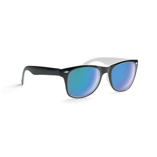 Wood grain effect sunglasses