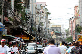 Photo: Year 2 Day 35 - A Street in Phnom Penh