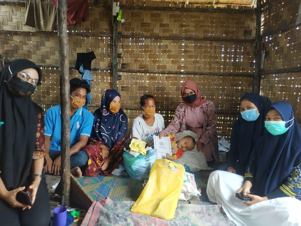 Polres Batu Bara Adakan Bakti Sosial Kepada Anak Penderita Hidrosefalus