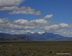 Photo: South Steens Mountain from Fields