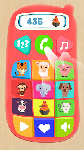 Baby Phone for Kids. Learning Numbers for Toddlers screenshot 2