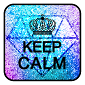 Keep Calm keyboard