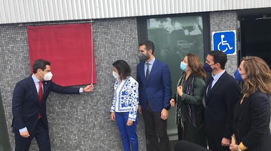 Moreno inaugura la Casa del Mar y anuncia la licitación del Hospital de Roquetas