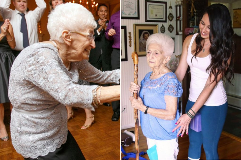 86-Year-Old Heals From Scoliosis And Transforms Her Body With Yoga