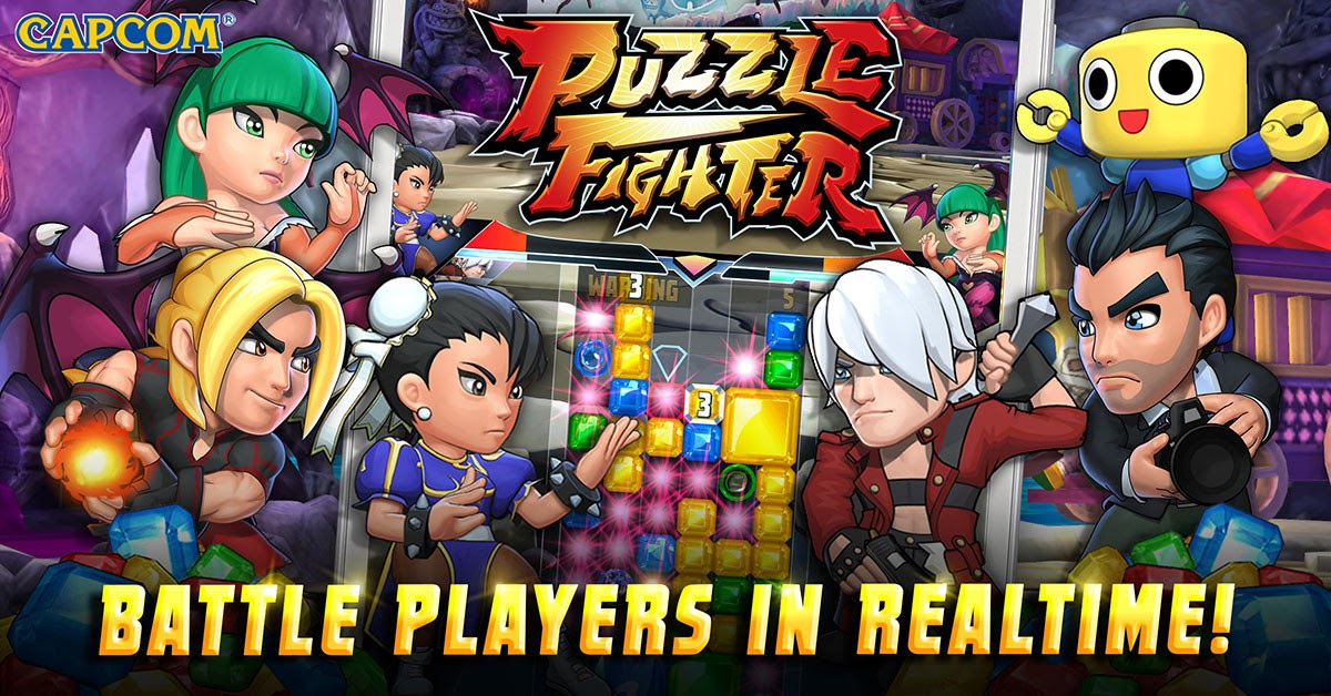 Puzzle Fighter.