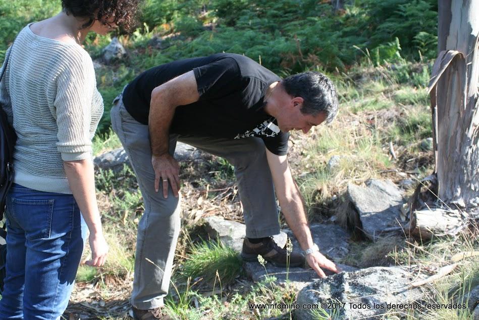 A las visitas de A Cabeciña y el Arrabal se suman este año, como novedad, las nocturnas al petroglifo de Auga dos Cebros