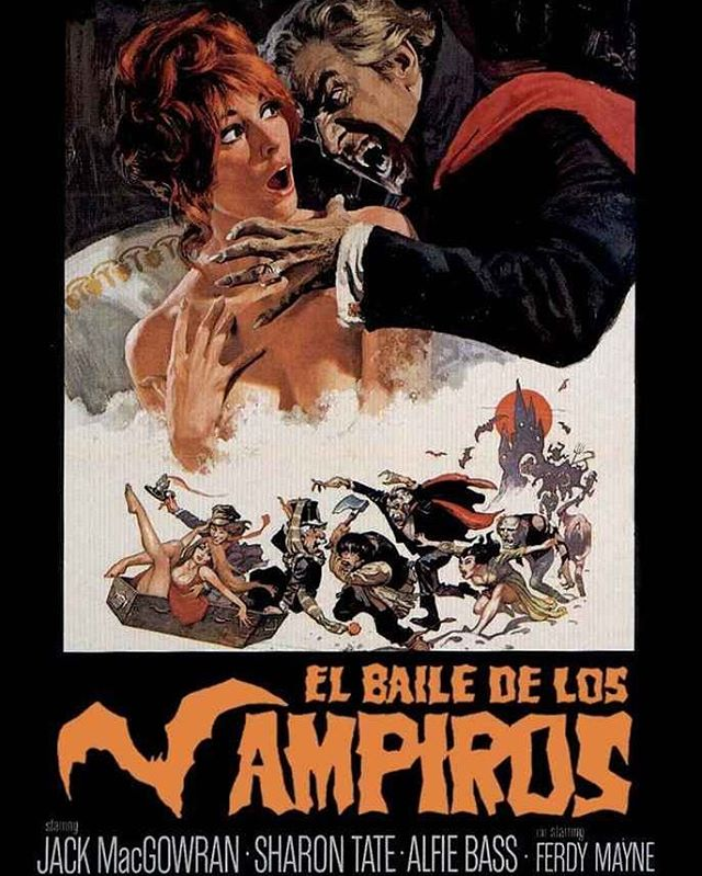 El baile de los vampiros (1967, Roman Polanski)