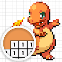 Color by Number - Pokemon Pixel Art Free 1.0