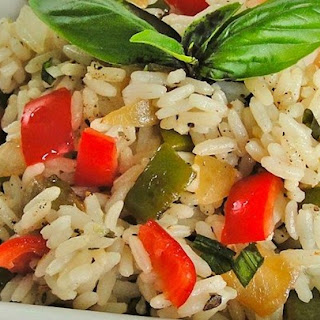 Sweet Bell Pepper Rice
