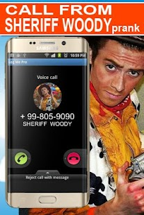 Call From Woody Prank - náhled
