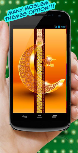 Islamic Zipper Lock Screen