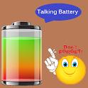 Real Talking Battery Widget icon