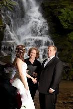 Photo: Eastatoe Falls Waterfall Ceremony - Rosman, NC 6/10  - Photo courtesy Sarah - http://PhotoDayBliss.com