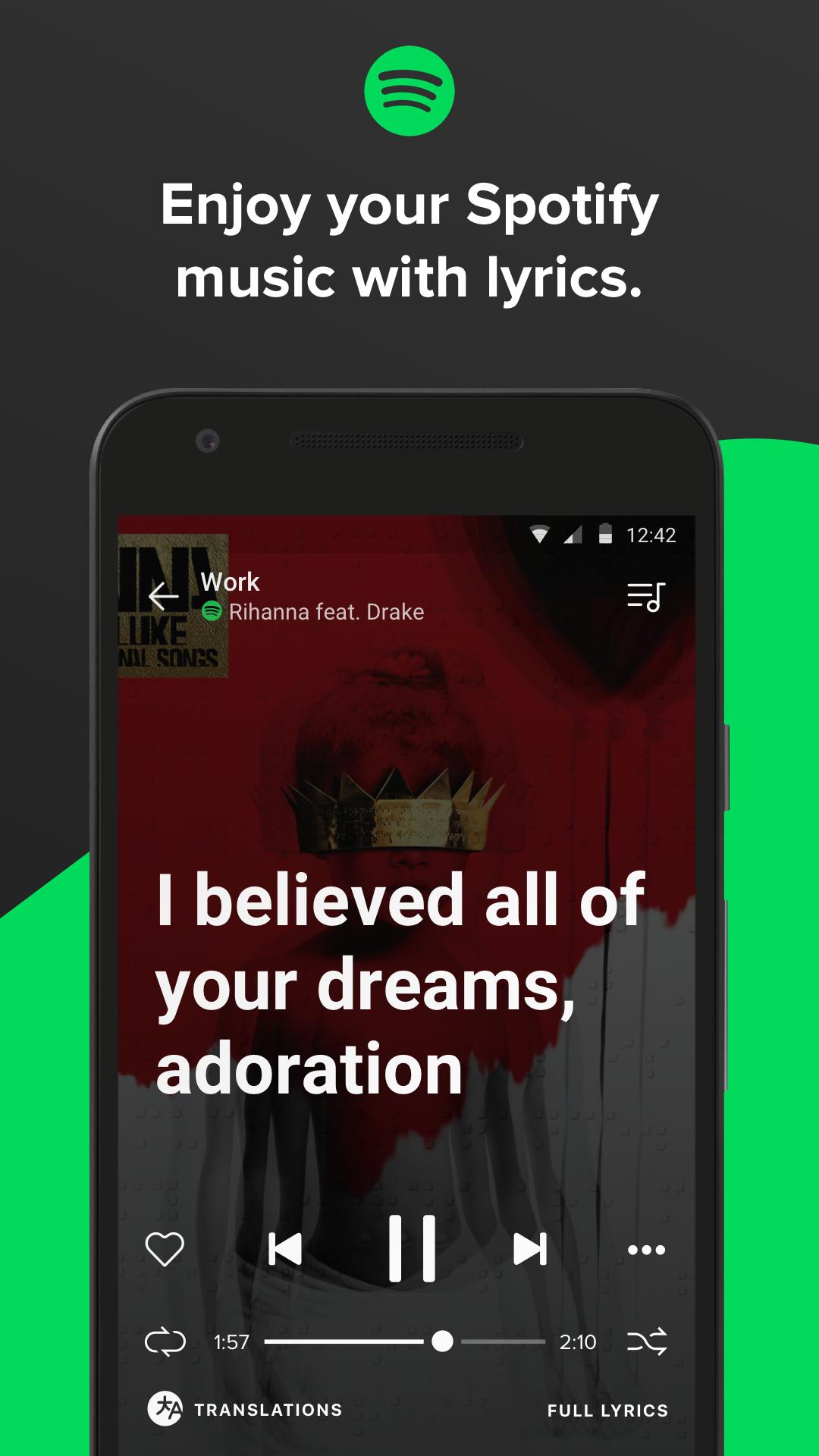 Musixmatch - Lyrics & Music screenshot #1