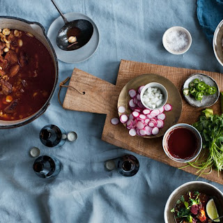 Posole with Red Chile.