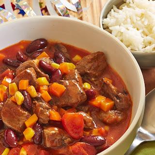 Chili mit Rindfleisch
