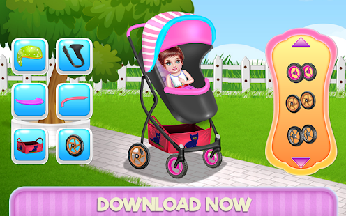 Create Your Baby Stroller- screenshot thumbnail
